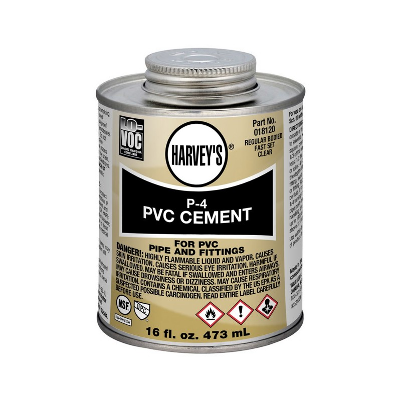 Harvey™ P-4 PVC Cement