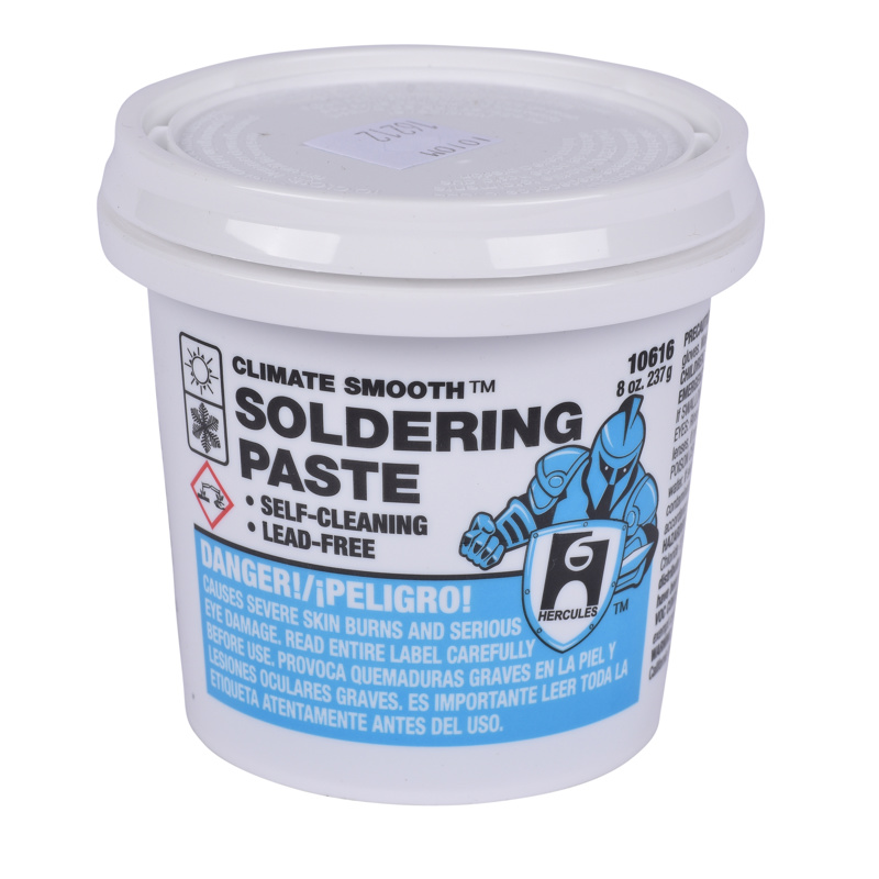 Hercules® Climate Smooth™ 1/2 lb Soldering Paste, Display Pack