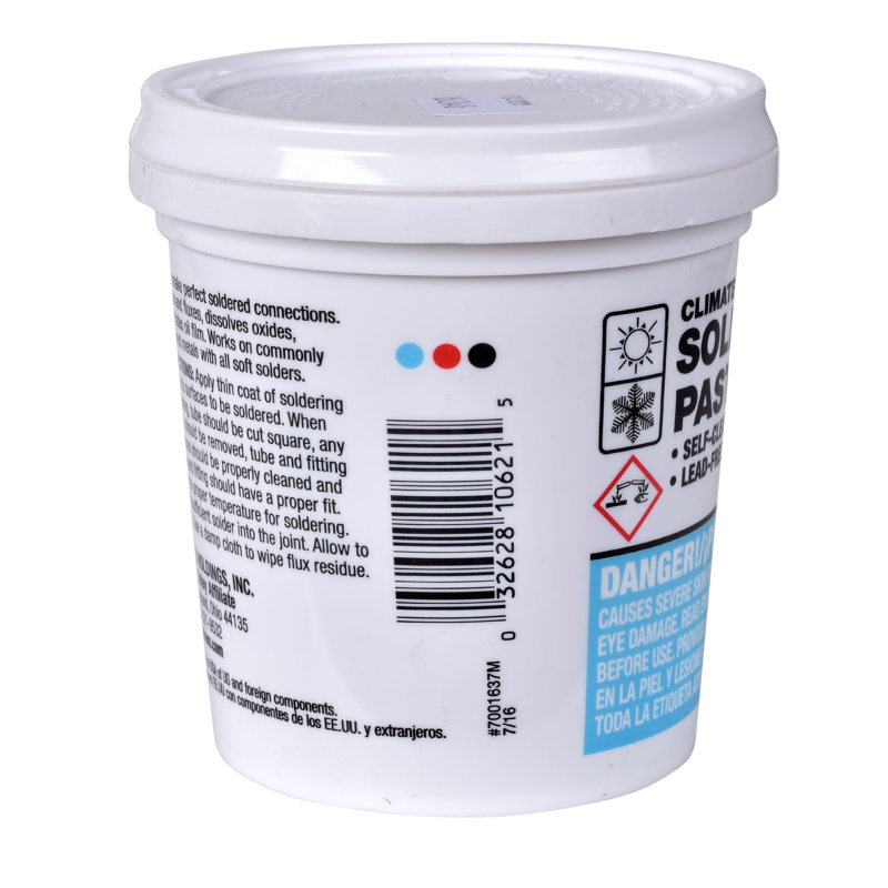 Hercules® Climate Smooth™ 1 lb.  Soldering Paste