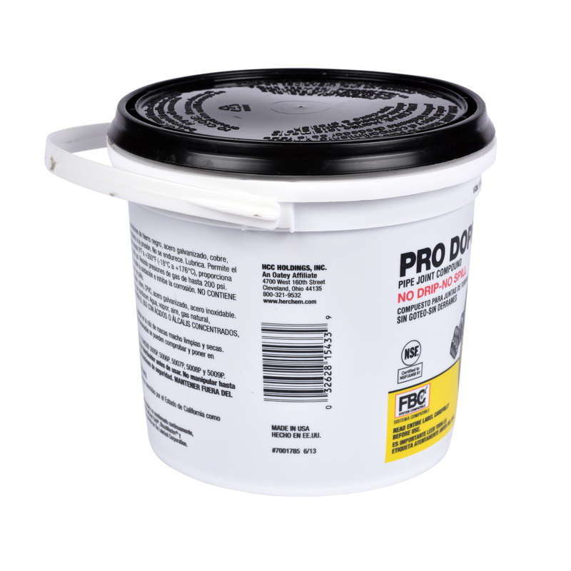 Hercules® 6 lb. Pro Dope® - Plastic Pail With Handle