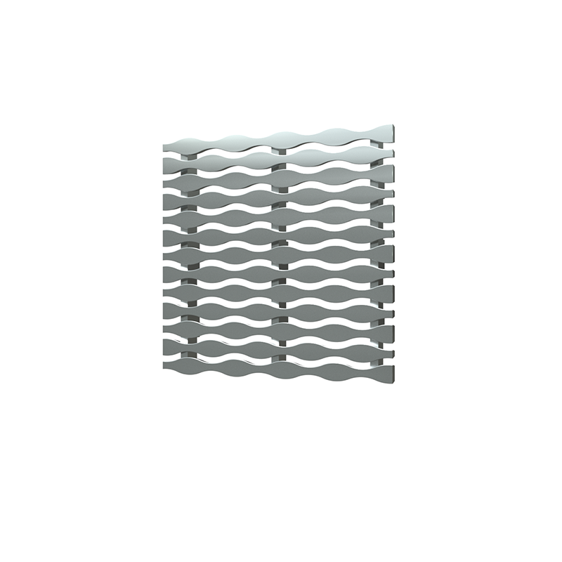 038753015804_H_001.png - SquareDrain 5 in. Stream Cover in Brushed Stainless Steel