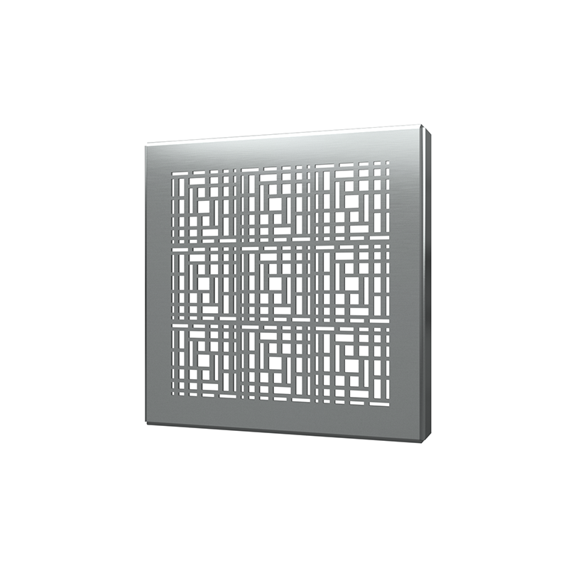 038753015897_H_001.png - SquareDrain 4 in. Deco Cover in Brushed Stainless Steel