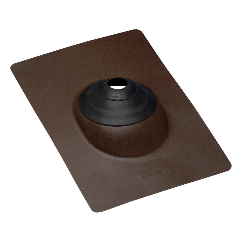 Oatey® Color-Flash® All-Flash® No-Calk® Roof Flashings/Brown Base