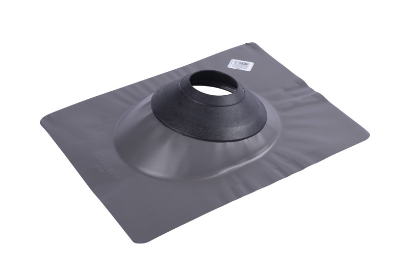 038753118789_H_002.jpg - Oatey® All-Flash® No-Calk® 3 in. – 4 in. Galvanized Gray 12 in. x 15 in. Base Roof Flashing
