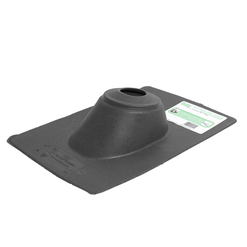 038753118994_H_001.jpg - Oatey® 1.25 in. – 1.5 in. Thermoplastic No-Calk 9.25 in. x 13 in. Base Roof Flashing