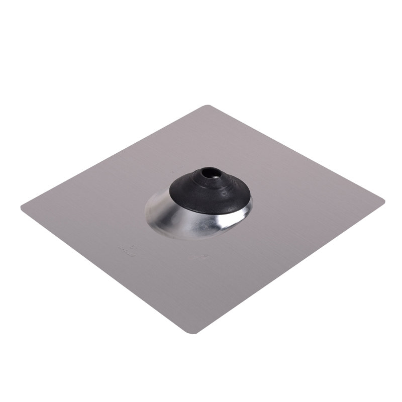 Oatey® 1.5 in. – 3 in. Aluminum All-Flash® No-Calk 18 in. x 18 in. Base Roof Flashing