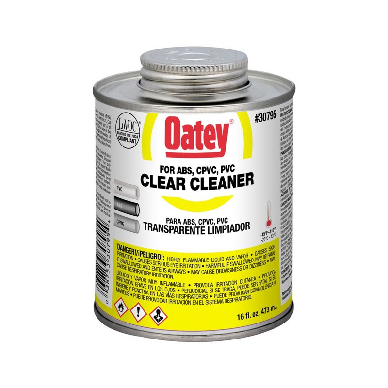 Oatey® Clear Cleaner