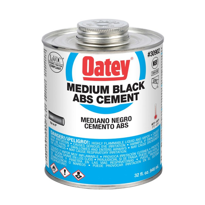 Oatey® ABS Medium-Bodied Black Cement