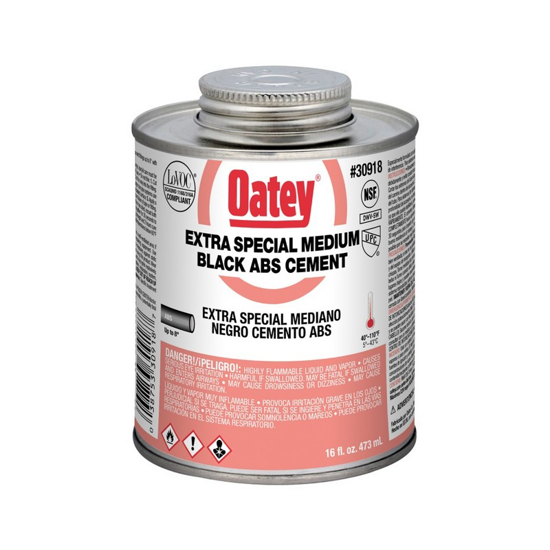 Oatey® Extra Special Medium Black ABS Cement