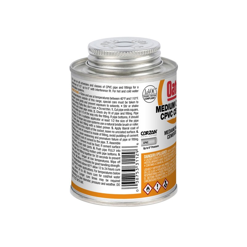 038753311296_W_001.jpg - Oatey® 8 oz. CPVC Medium Body Orange Cement