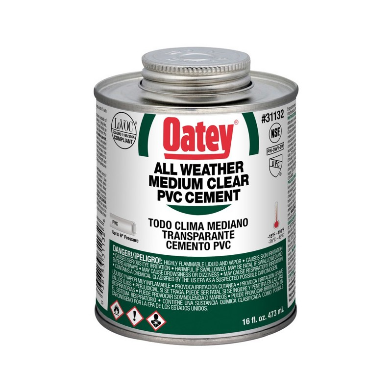 038753311326_H_001.jpg - Oatey® 16 oz. PVC All Weather Clear Cement