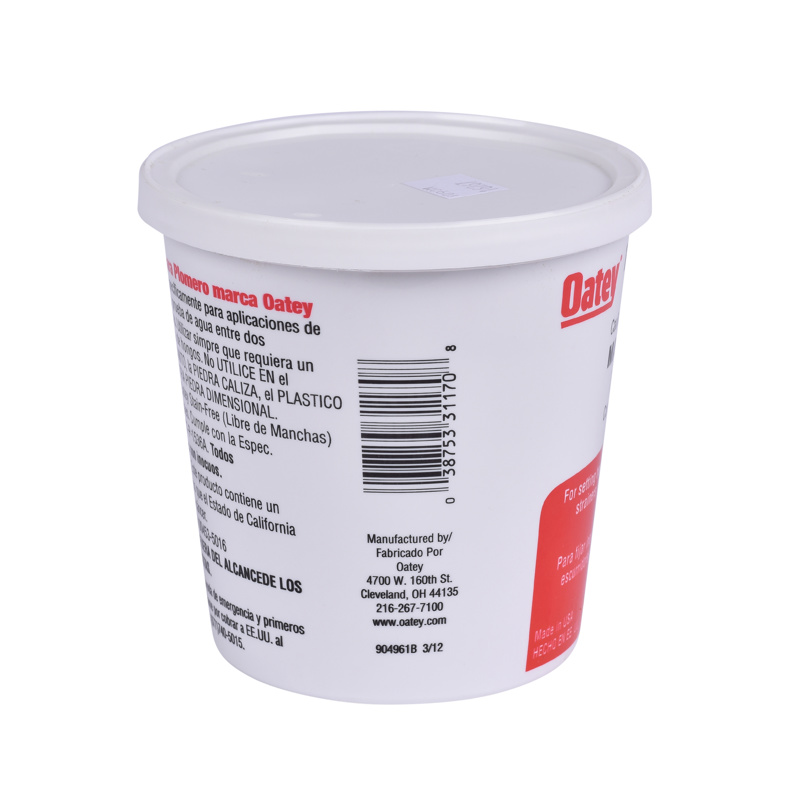 Oatey® 3 lb. Putty – Plastic container