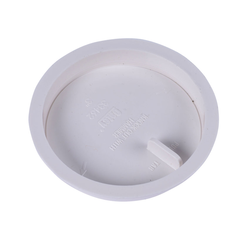 """Oatey® 3"""" Knock-Out™ Inset Test Cap"""