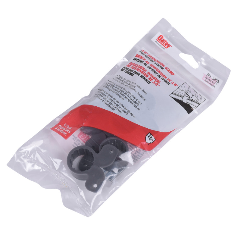 """Oatey® 3/4"""" Suspension Pipe Clamp (6 in polybag)"""