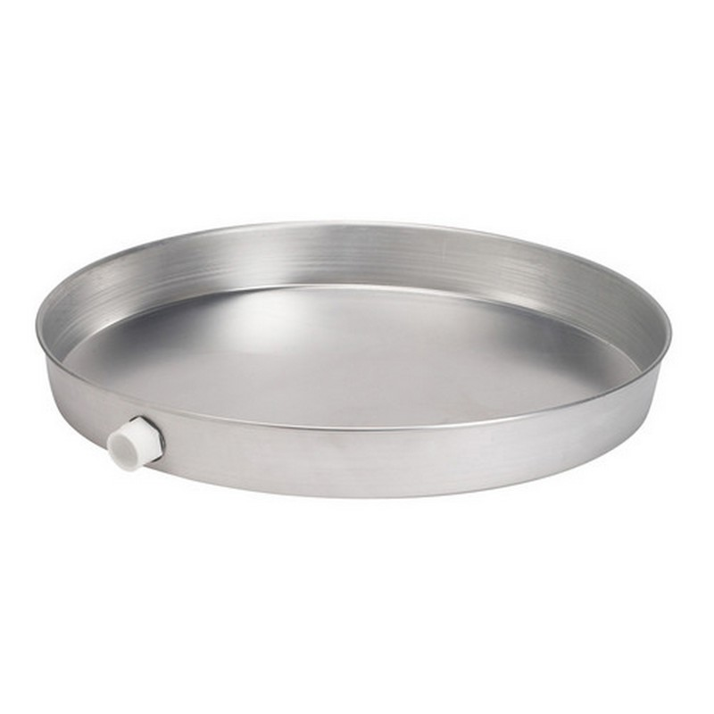 038753340791_H_001.jpg - Oatey® 18 in. Aluminum Water Heater Pans with 1 in. PVC Adapter