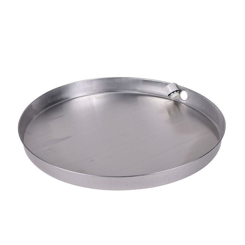 Oatey® 26 in. Aluminum Water Heater Pans with 1 in. PVC Adapter