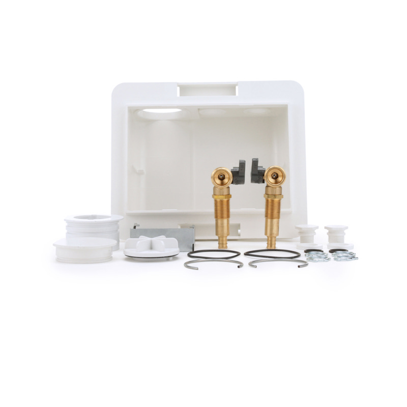 038753384726-01-01.jpg - Oatey® Fire Rated, 1/4 Turn, F1807 - Washing Machine Outlet Box, Standard Pack