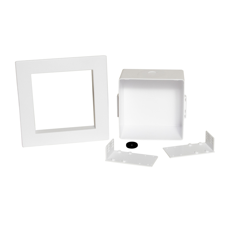 Oatey® Square, Plain Box, No Valves, With Grommet - Standard Pack