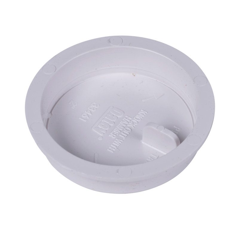 """Oatey® 2"""" Knock-Out™ Test Cap w/Barcode"""