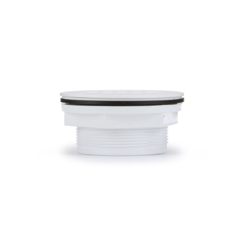 038753420752-01-01.jpg - Oatey® 2 in. 101 PNC PVC No-Calk Shower Drain with Plastic Strainer