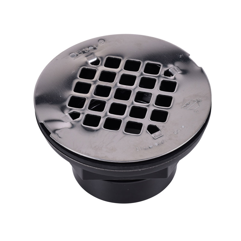 Oatey® 2 in. 101 PS ABS Solvent Weld Shower Drain w/ stainless steel strainer
