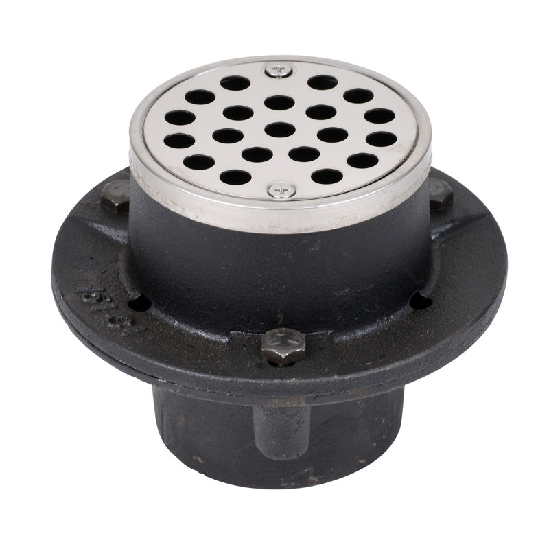 "Oatey® 2"" 151 cast iron w/2"" Sch. 40 No-calk connection"