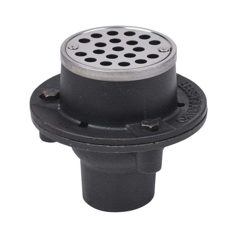 "Oatey® 2"" 151 cast iron w/2"" No Hub connection"