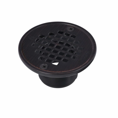 ABS Round Barrel Only Oil Rubbed Bronze Screw Strainer w/Ring