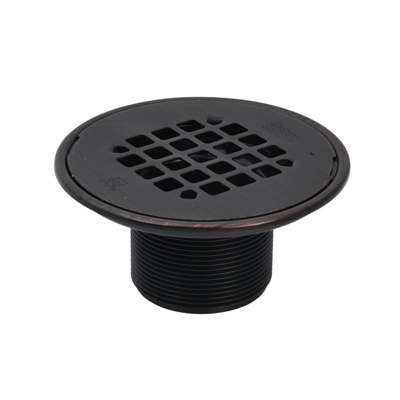 ABS Round Barrel Only Oil Rubbed Bronze Snap Strainer w/Ring