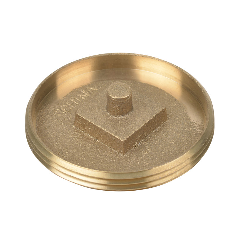 Oatey® Brass Cleanout Plug With Recessed Head