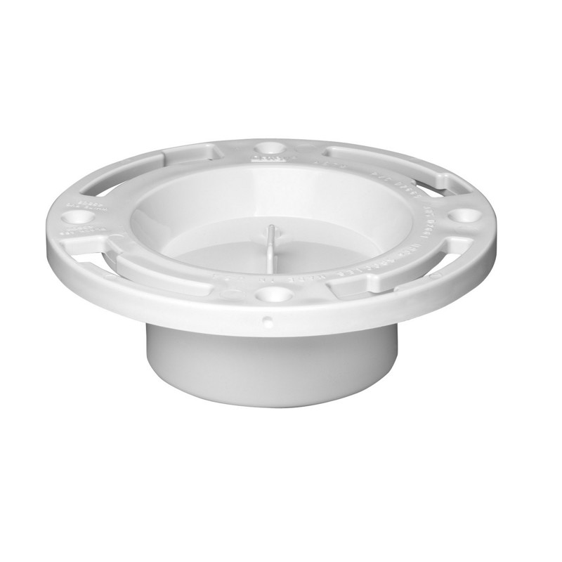 Oatey® Level Fit Closet Flange Plastic Ring