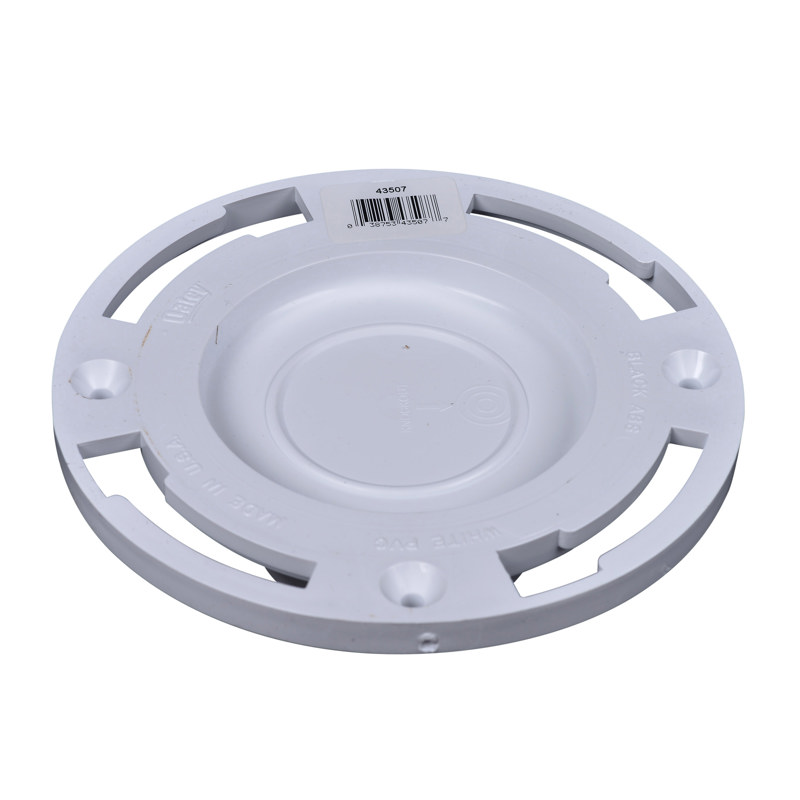 038753435077_H_002.jpg - Oatey® 3 in. PVC Closet Flange with Plastic Ring and Test Cap