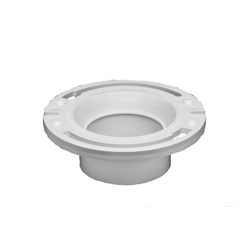 Oatey® Level Fit Closet Flange Plastic Ring, Long Mounting Slots