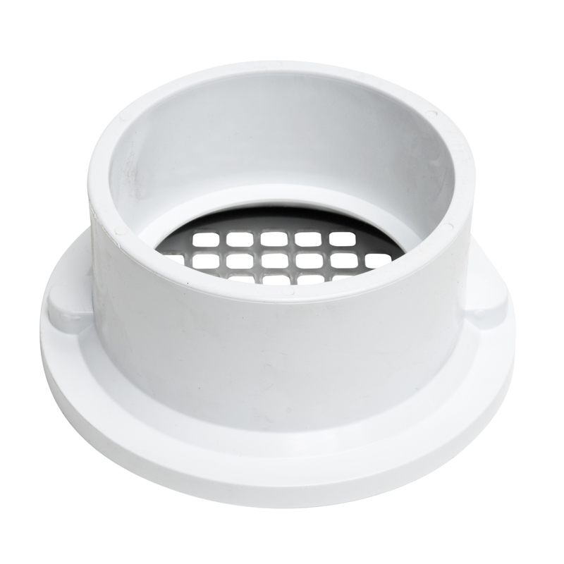 "Oatey® 3"" or 4"" PVC general purpose drain w/5"" stainless steel Screw-Tite strainer"