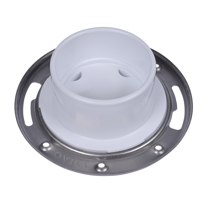 Oatey® 3 in. or 4 in. Easy Tap Closet Flange, PVC w/SS ring