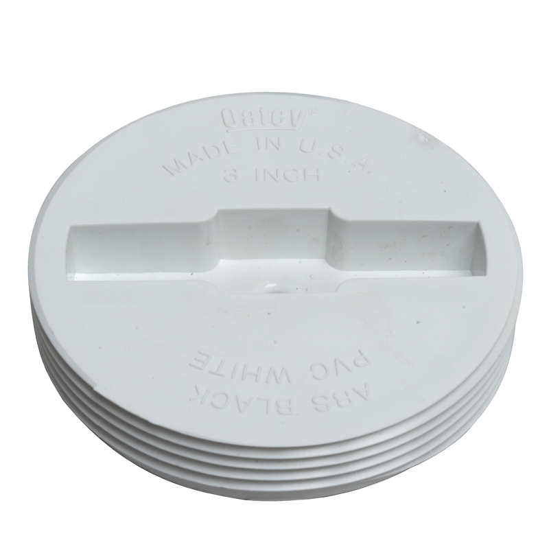 """Oatey® 3-1/2"""" PVC Replacement Plug for the 4"""" regular and the 3"""" Hub cleanout assemblies"""