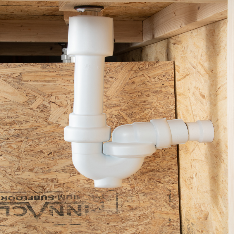 041193000972_APP_002.jpg - Dearborn® Safety Series Sink Trap & Plastic Tubular P-Trap Covers