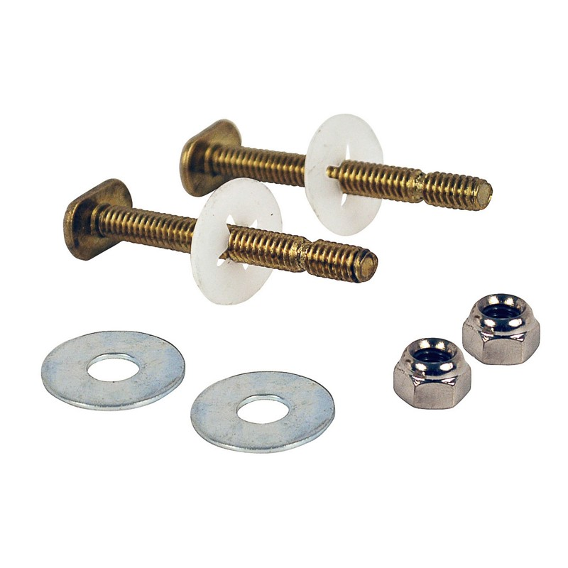 "Harvey™ 1/4"" X 2 1/4"" BRASS E-Z SNAP TOILET BOLTS"