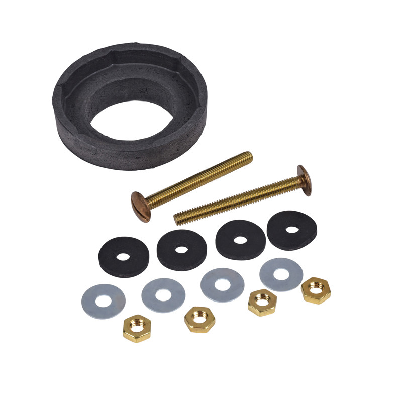 072034-12_h.jpg - Harvey™ Double Thick Sponge Rubber Gasket and Bolt Kit with Hex Nuts