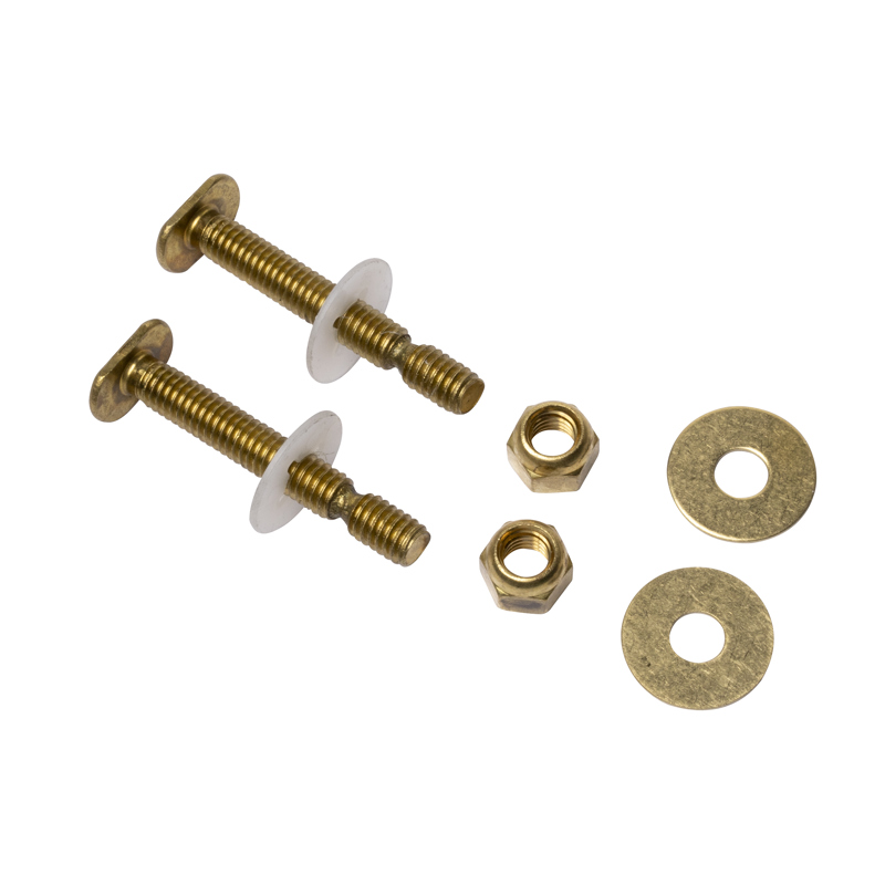 "Harvey™ 5/16"" X 2 1/4"" BRASS EZ SNAP TOILET BOLTS"