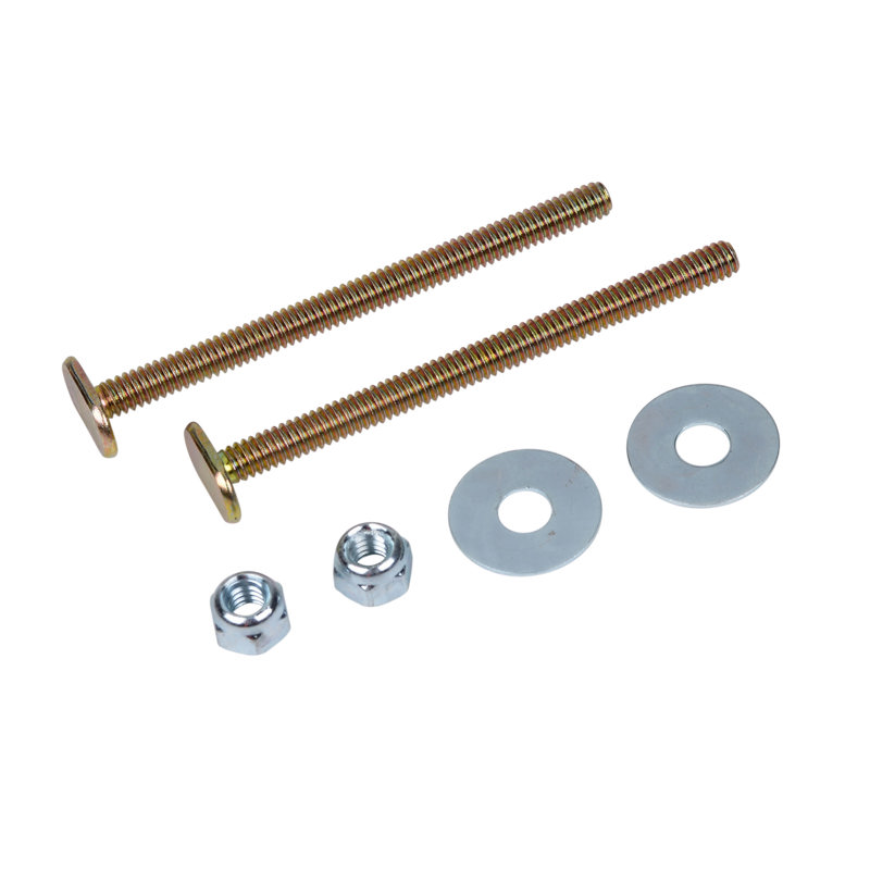 Harvey™ 1/4-in X 3 1/2-in BRASS PLATED TOILET BOLTS