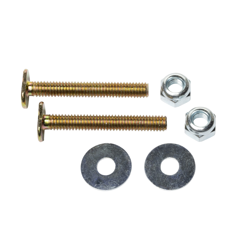 Harvey™ 5/16-in X 2 1/4-in BRASS PLATED TOILET BOLTS