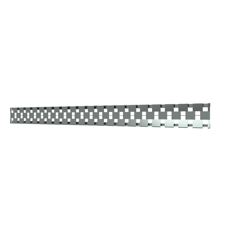 10_Linear_Covers_Comso_Brushed_Stainless_Steel_Medium_H_001.png - QuickDrain Linear Drain 40 in. Cosmo Cover in Brushed Stainless Steel