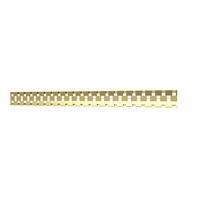 10_Linear_Covers_Cosmo_Brushed_Gold_Large_H_001.png - QuickDrain Linear Drain 56 in. Cosmo Cover in Brushed Gold