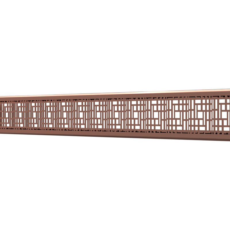 10_Linear_Covers_Deco_Polished_Rose_Gold_Small_H_001.png - QuickDrain Linear Drain 32 in. Deco Cover in Polished Rose Gold