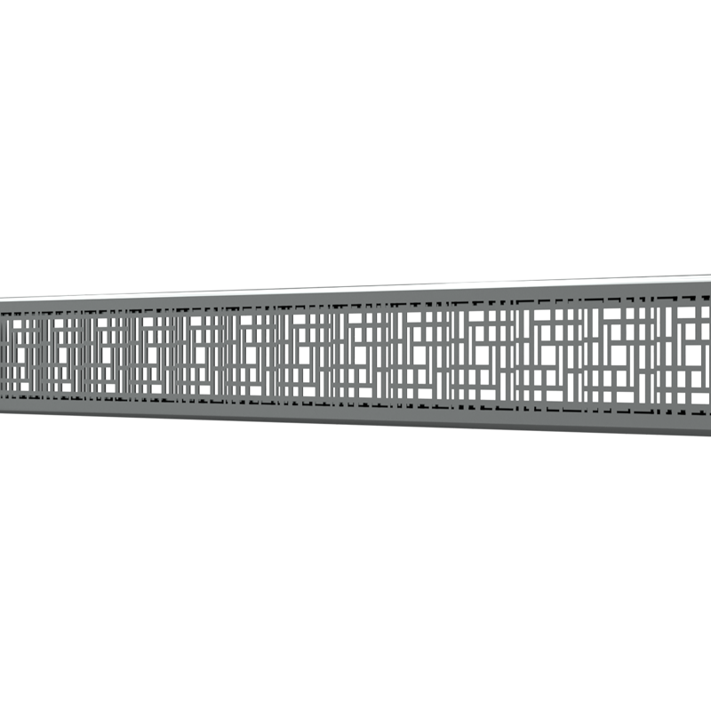 10_Linear_Covers_Deco_Polished_Stainless_Steel_Small_H_001.png - QuickDrain Linear Drain 32 in. Deco Cover in Polished Stainless Steel