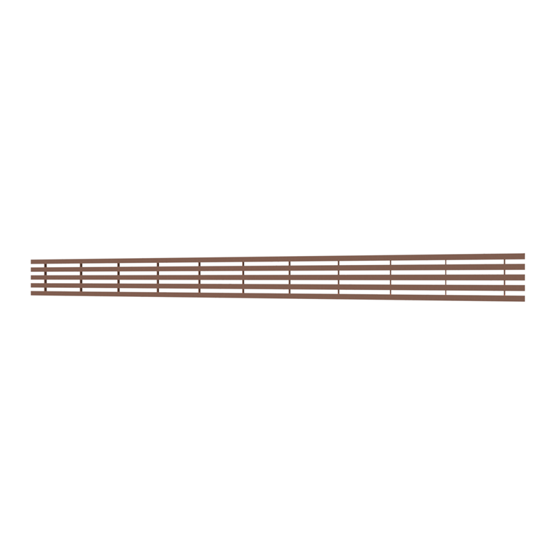 10_Linear_Covers_Lines_Polished_Rose_Gold_Large_H_001.png - QuickDrain Linear Drain 56 in. Lines Cover in Polished Rose Gold