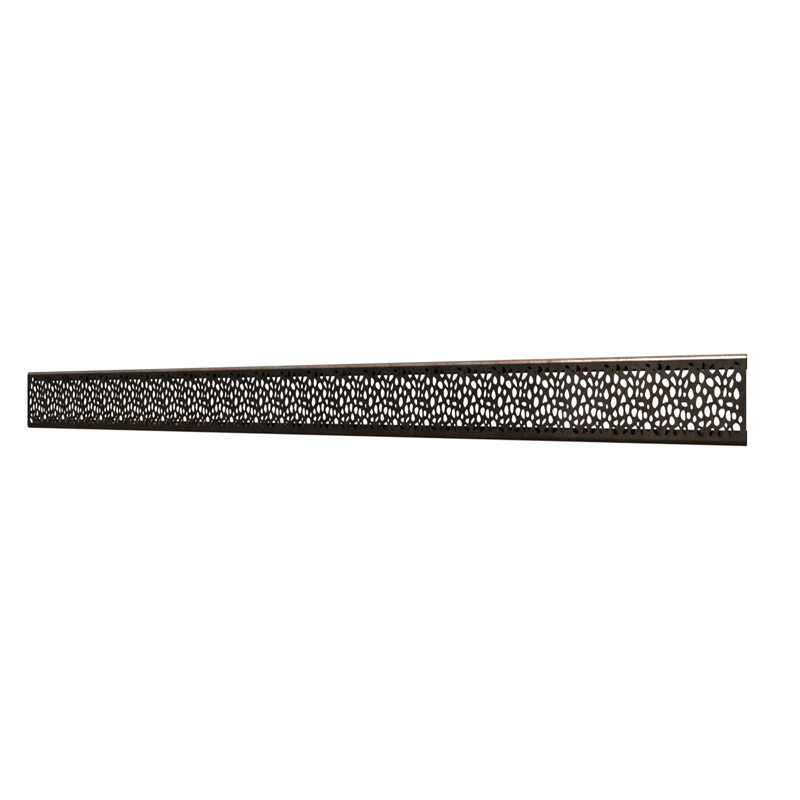 10_Linear_Covers_Stones_Oil_Rubbed_Bronze_Medium_H_001.png - QuickDrain Linear Drain 40 in. Stones Cover in Oil Rubbed Bronze