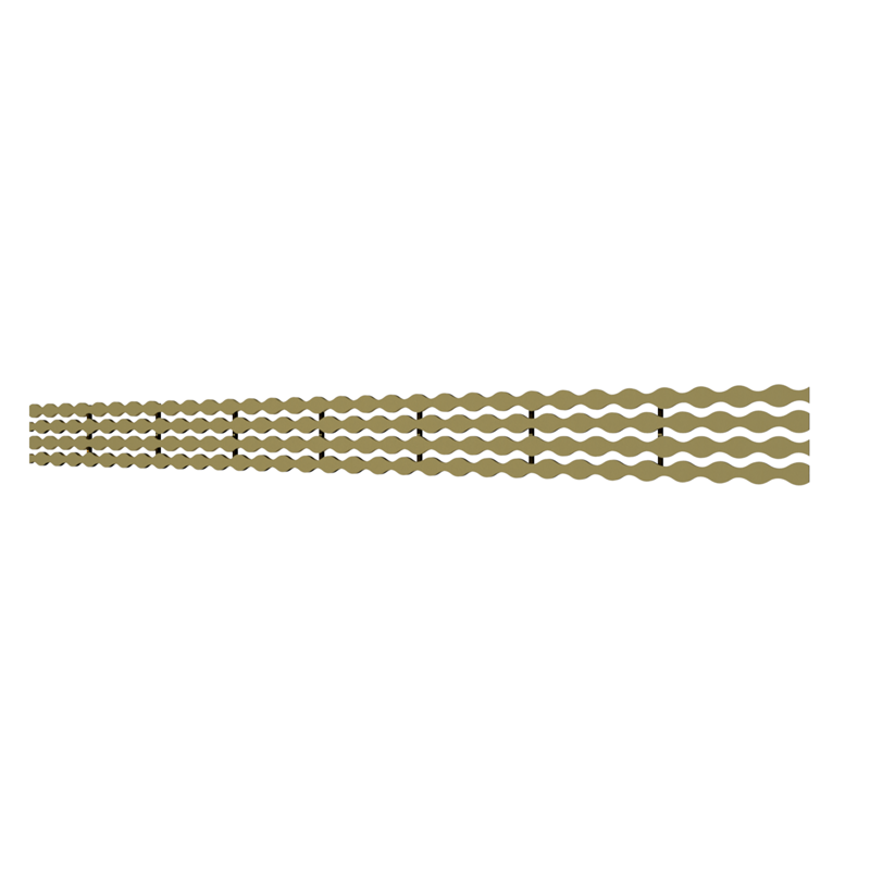10_Linear_Covers_Stream_Polished_Gold_Medium_H_001.png - QuickDrain Linear Drain 40 in. Stream Cover in Polished Gold