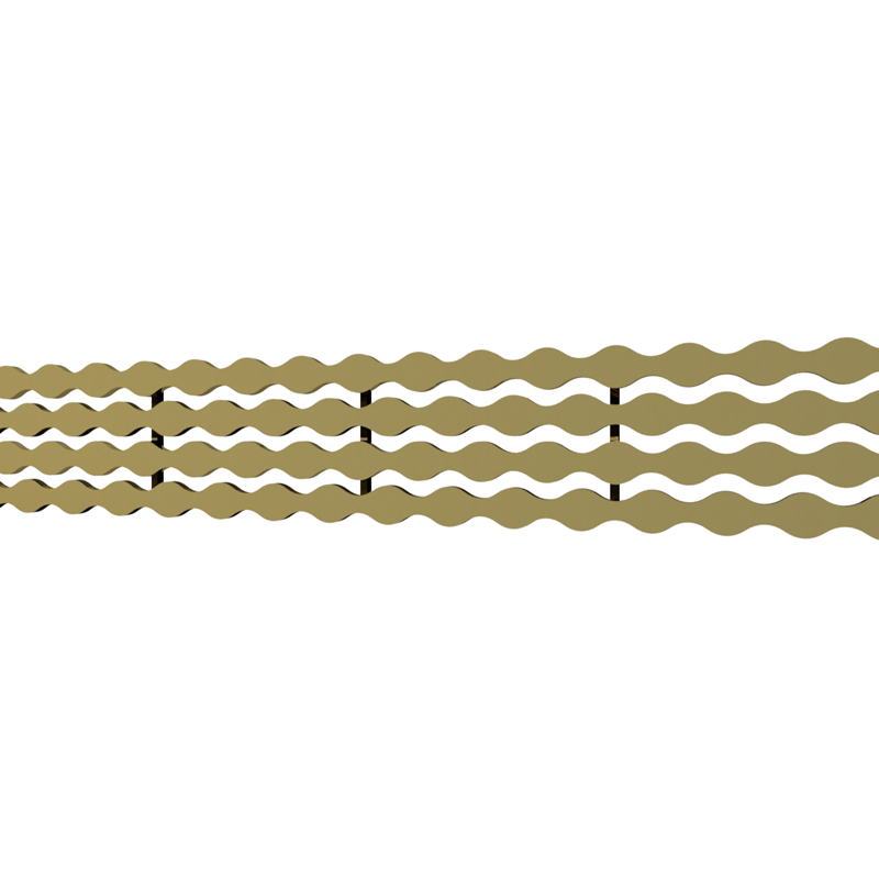 10_Linear_Covers_Stream_Polished_Gold_Small_H_001.png - QuickDrain Linear Drain 18 in. Stream Cover in Polished Gold